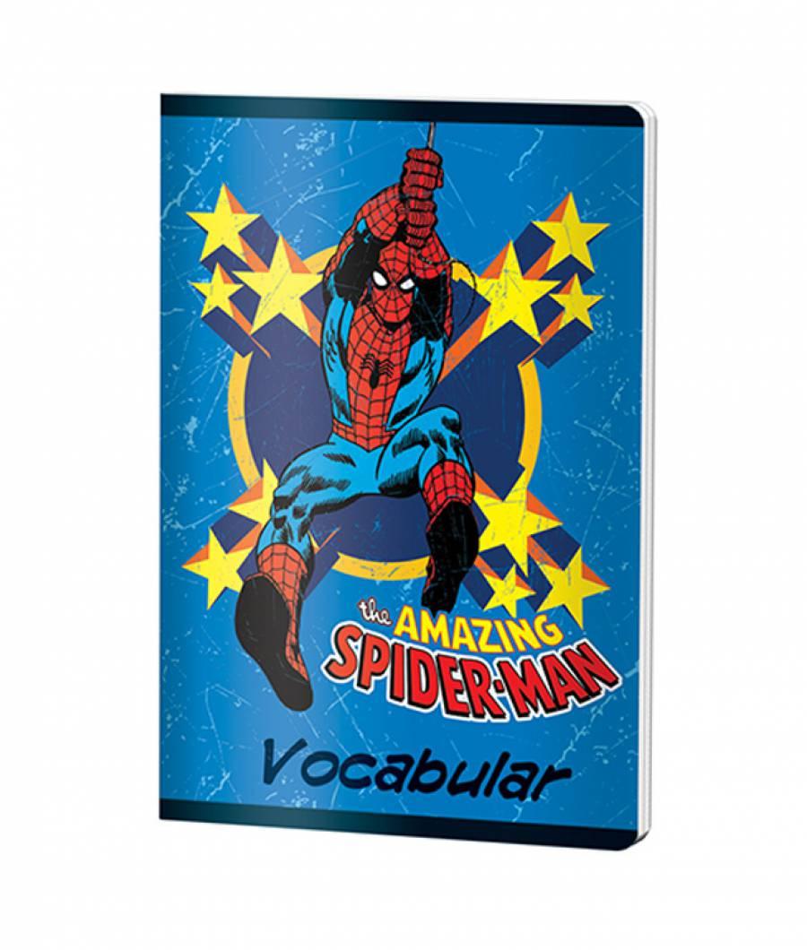 Caiet Vocabular 24file Spider-man