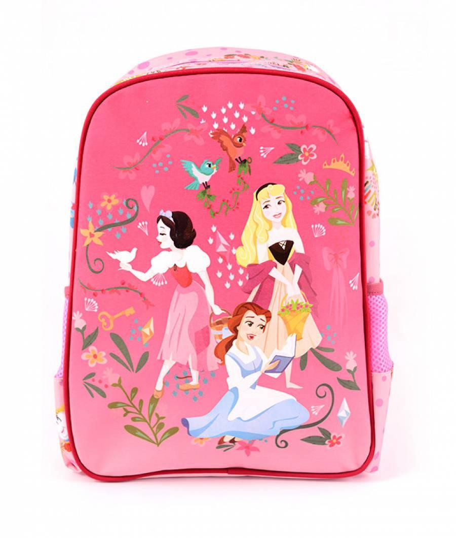 Ghiozdan Pregatitoare roz Princess