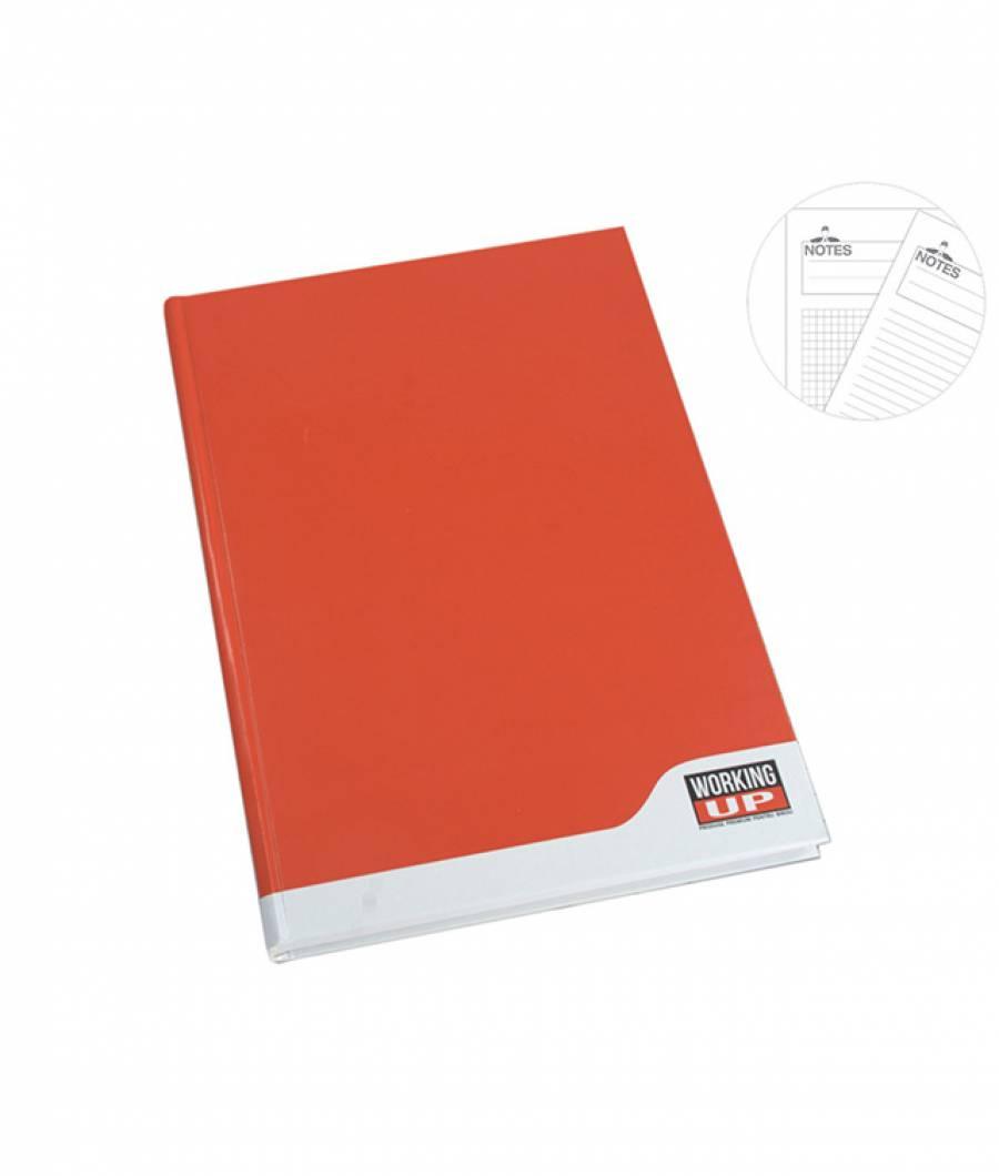 Registru A4 192file, dictando, 60g WorkingUp rosu