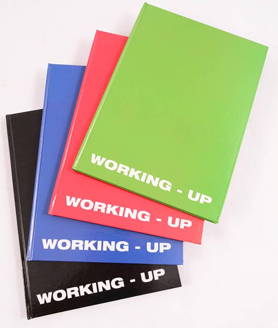 Registru A4 96file, matematica, WorkingUp culori mixte R/N/V/A