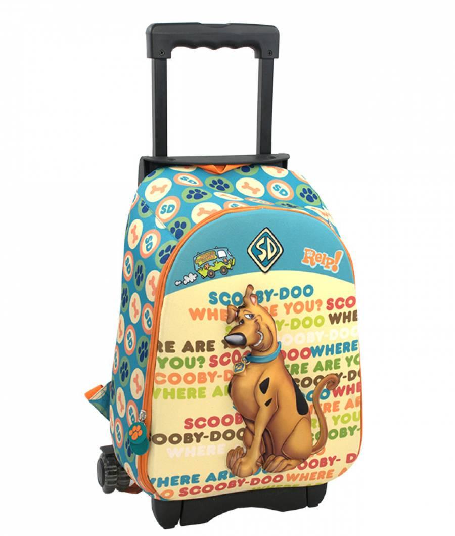 Ghiozdan Troller CL 1/4 3D 1 ferm. Scooby Doo Trol