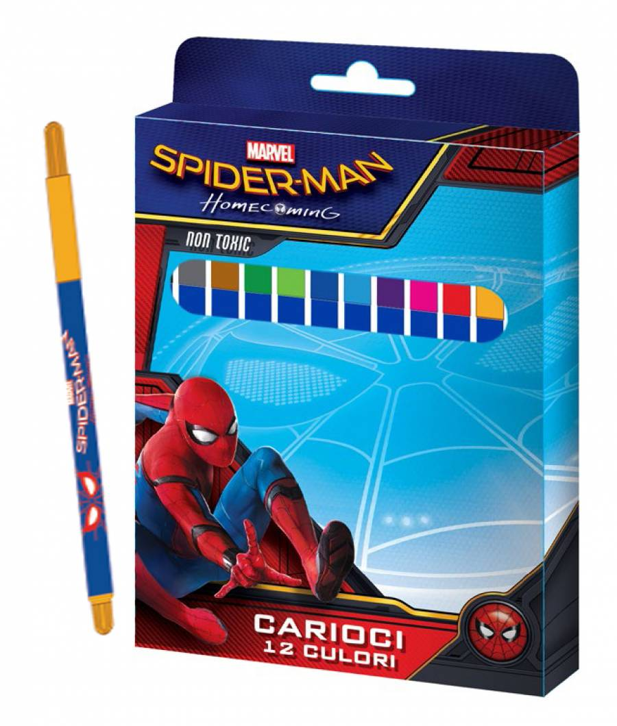 Carioci 12/set, cutie,  Spiderman HC