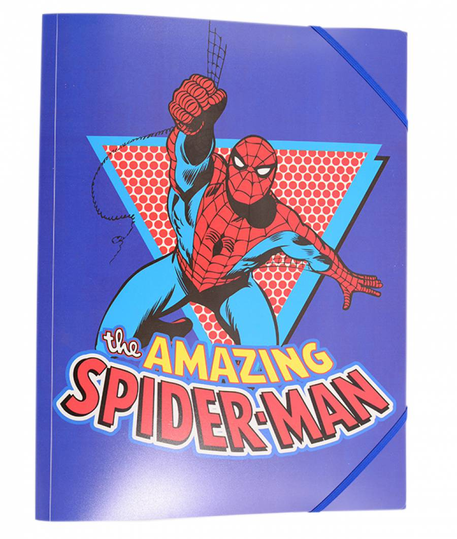 Mape plastic cu elastic Spiderman
