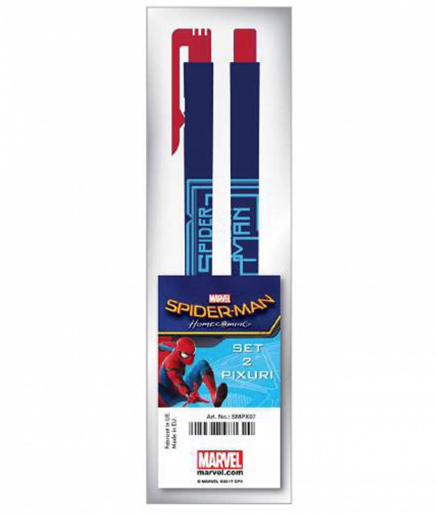 Blister 2 Pix cu buton  Spiderman HC