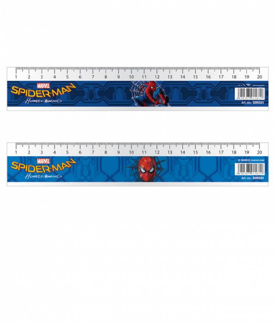Rigla 20cm Spiderman .
