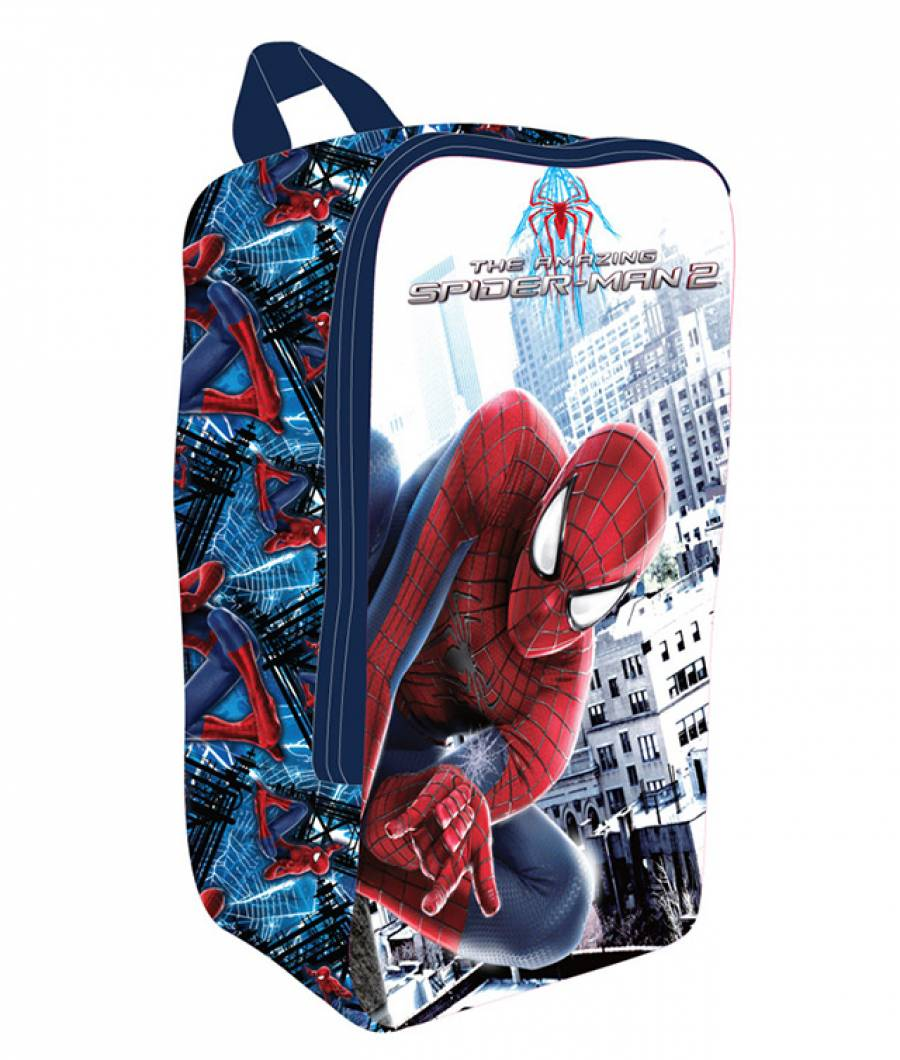 Geanta Pantofi Spiderman