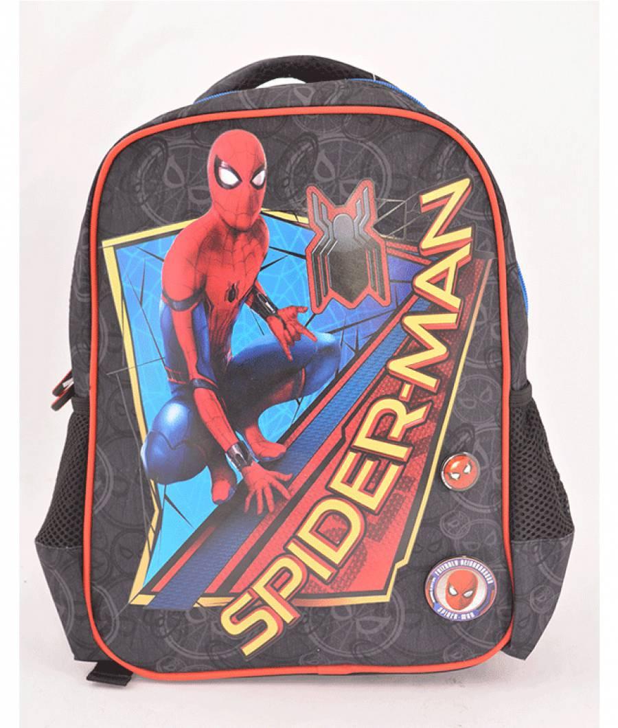 Ghiozdan Gradinita Spiderman Albastru Inchis Spider-man