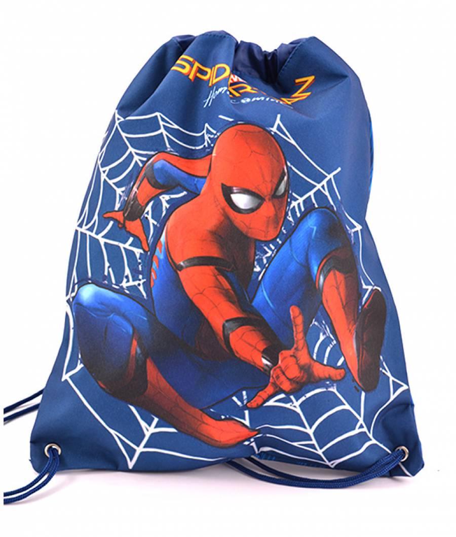 Sac Sport Spiderman Bleumarin
