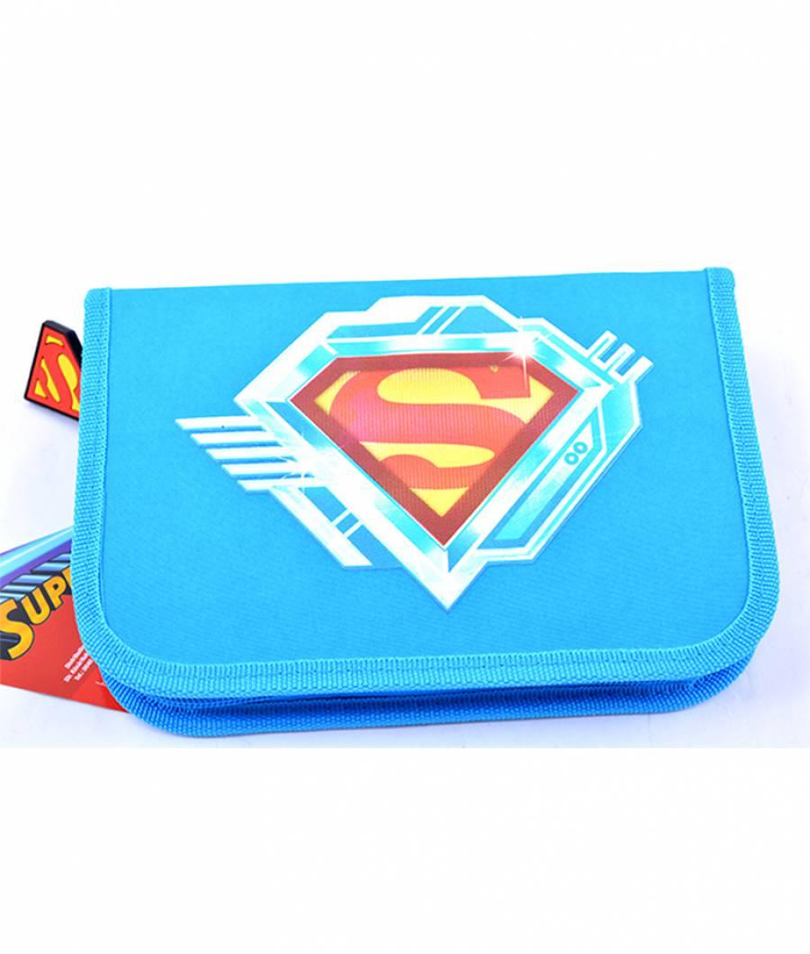 Penar Neechipat , 1 fermoar,2 extensii,Superman Albastru Simplu Supe