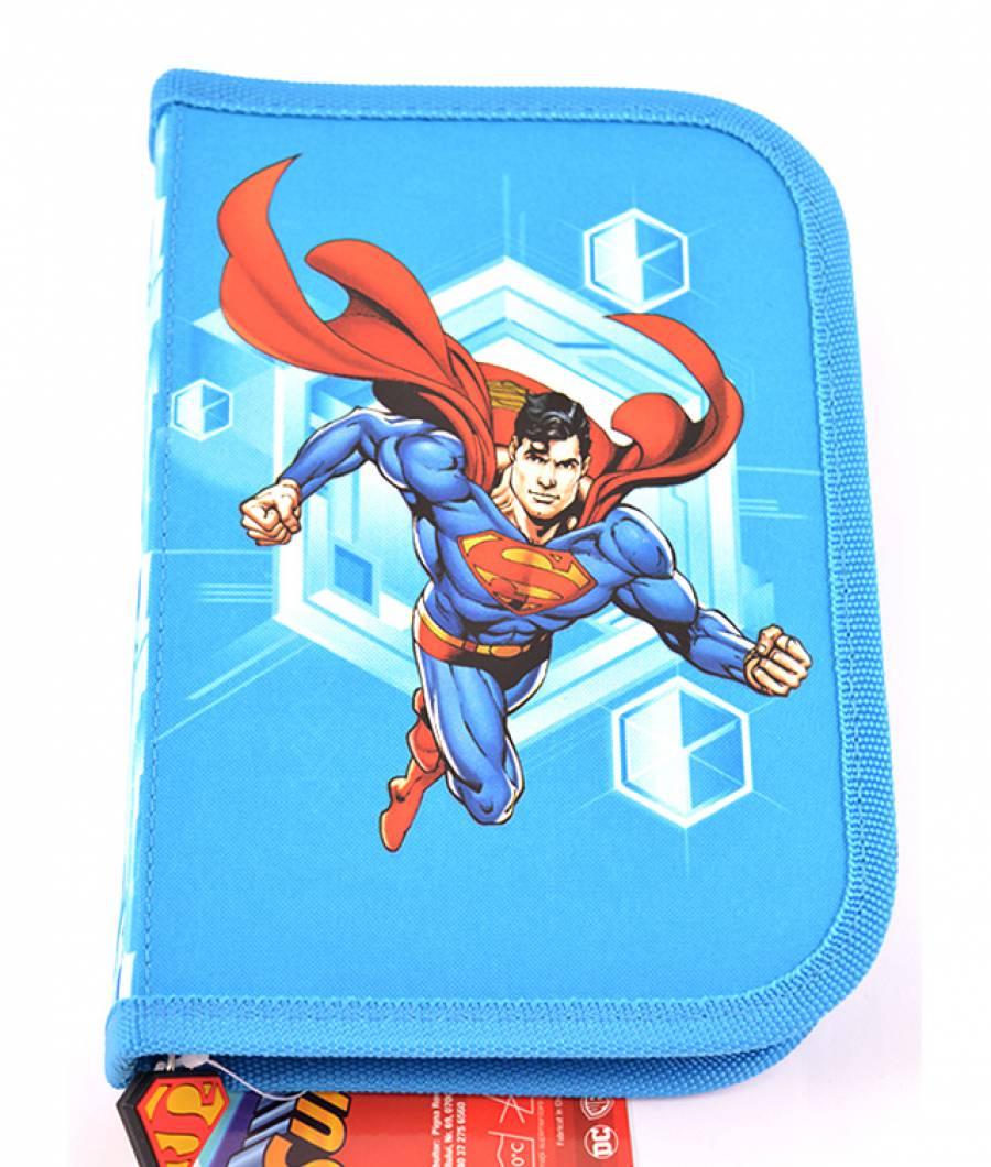 Penar Neechipat , 1 fermoar,2 extensii,Superman Albastru Superman