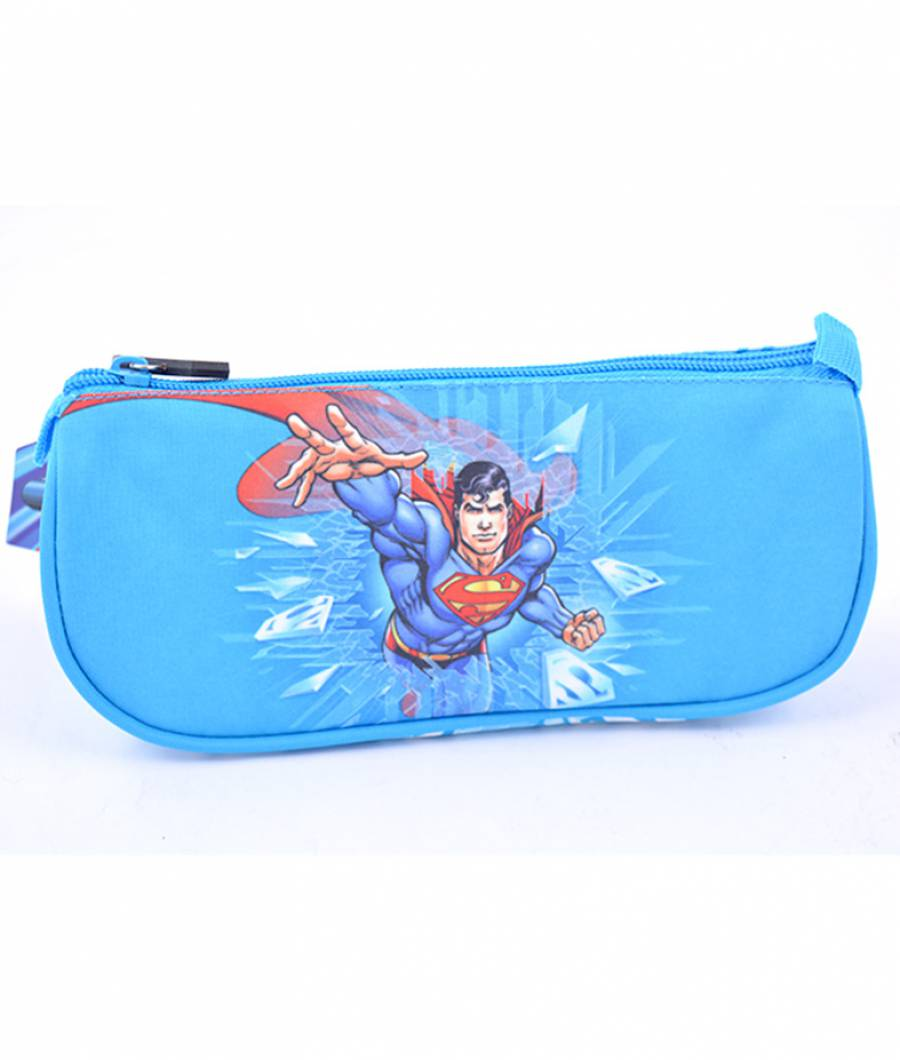 Penar Etui Triunghiular Albastru Superman