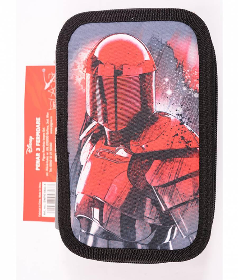 Penar Neechipat 3 fermoare gri-negru, Star Wars Ep. VIII