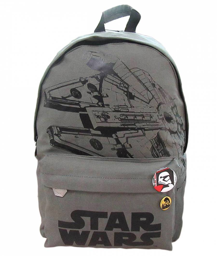 Ghiozdan Gimnaziu Star Wars TEENS CNVS+Buz spate