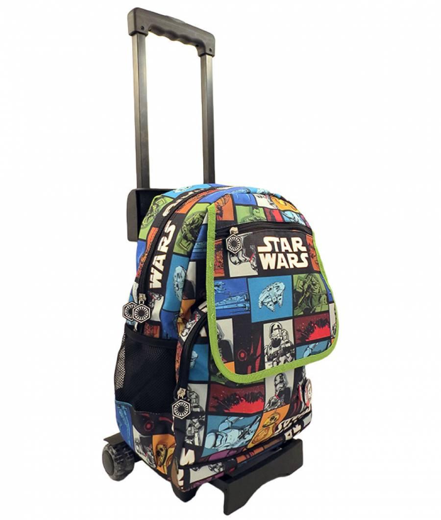 Ghiozdan Troller Gimnaziu Star Wars EP7 Troller De