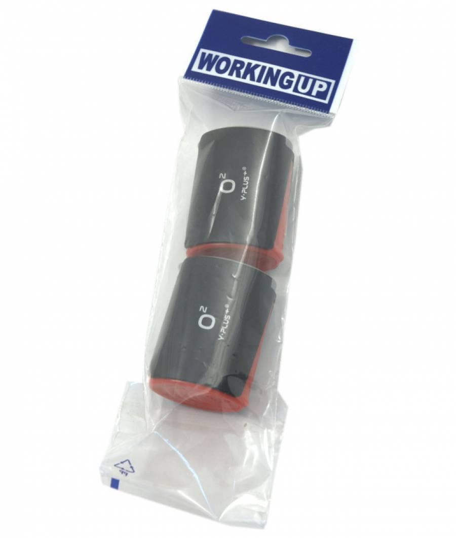 Blister 2 Ascutitori plastic cu Rezervor O2